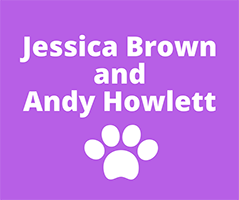 Jessica Brown and Andy Howlett